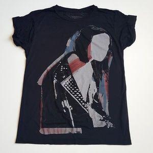 All Saints Biker T-Shirt